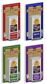 The Lunch Cards: Store Special - Set of Four